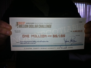 One Million Dollars! (Not really)