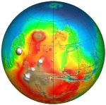Lopsided Mars
