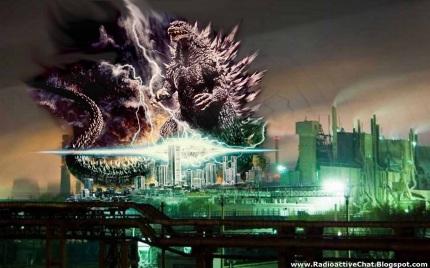Godzilla Japan Nuclear Earthquake Fukushima www.RadioactiveChat.blogspot.com
